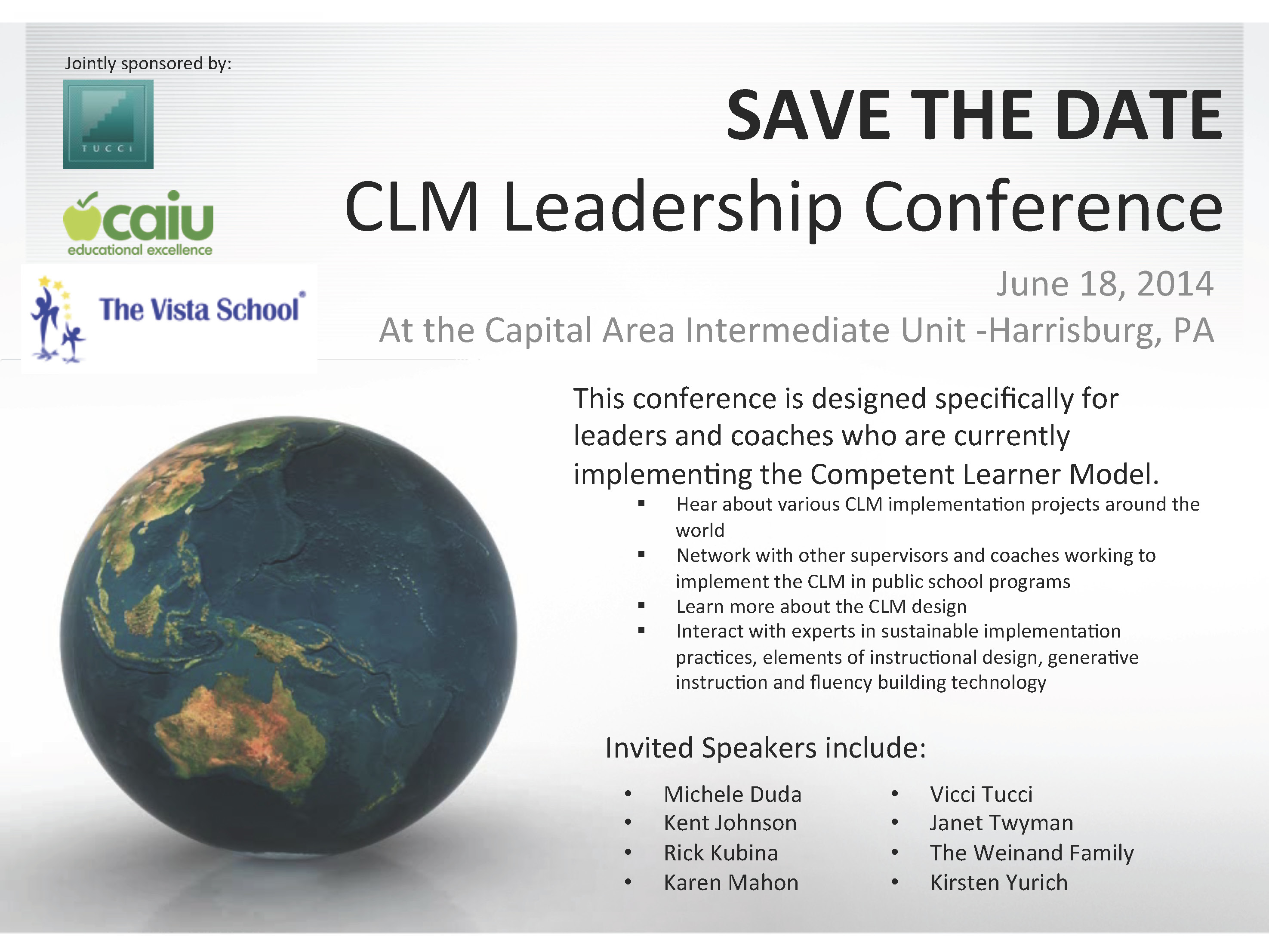 SAVE THE DATE - CLM conference