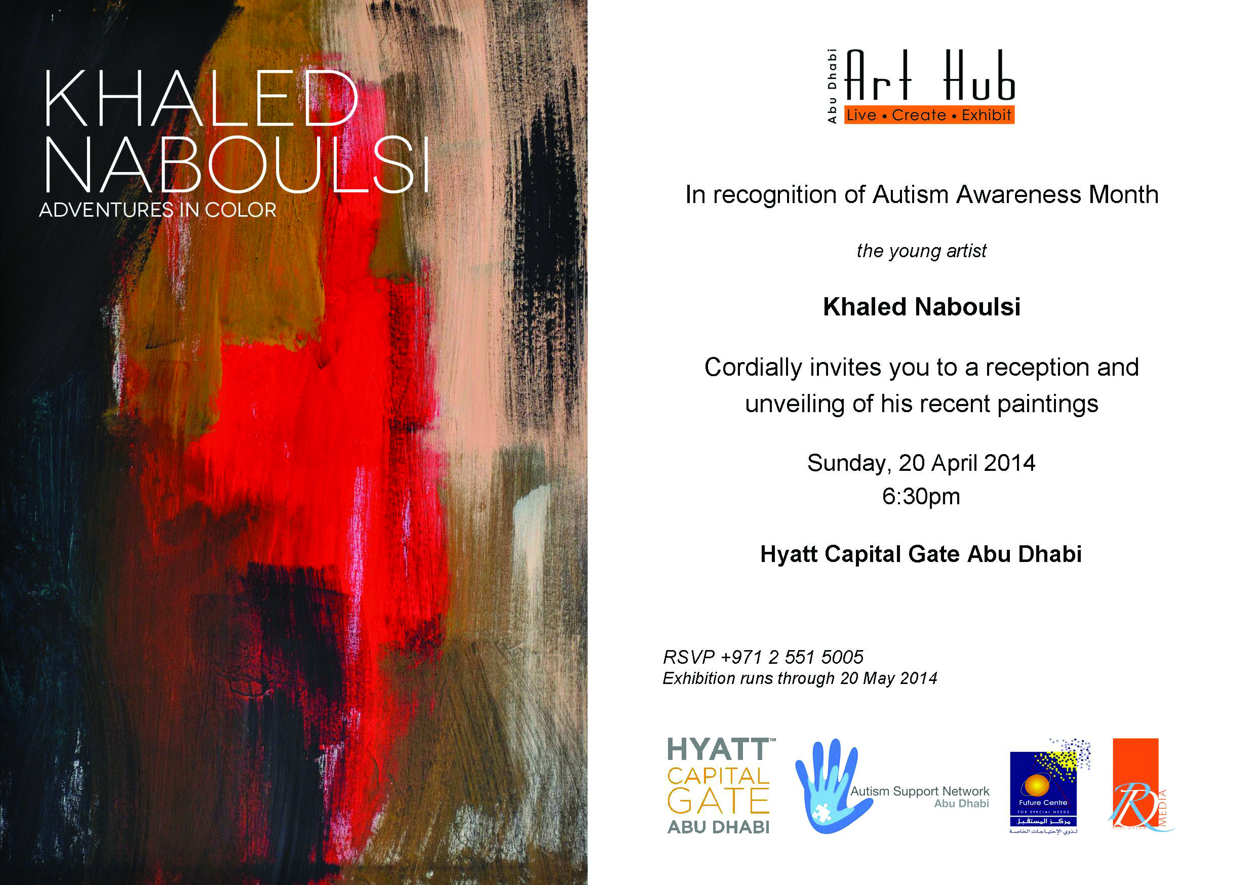 Invitation to the Opening of the ART EXHIBITION in