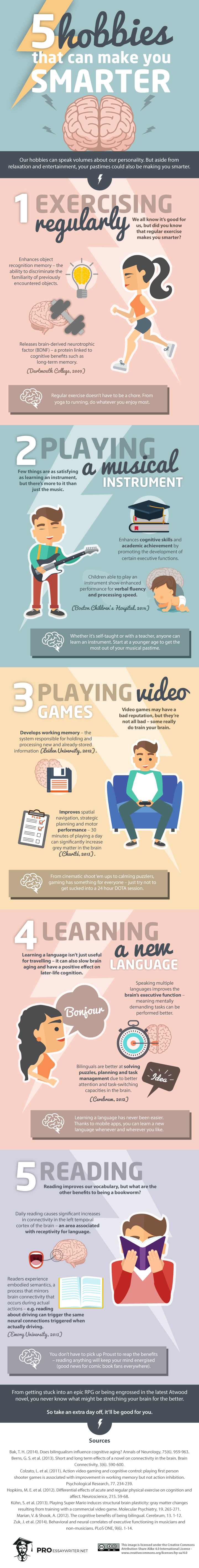 5-Hobbies-That-Can-Make-You-Smarter-Infographic