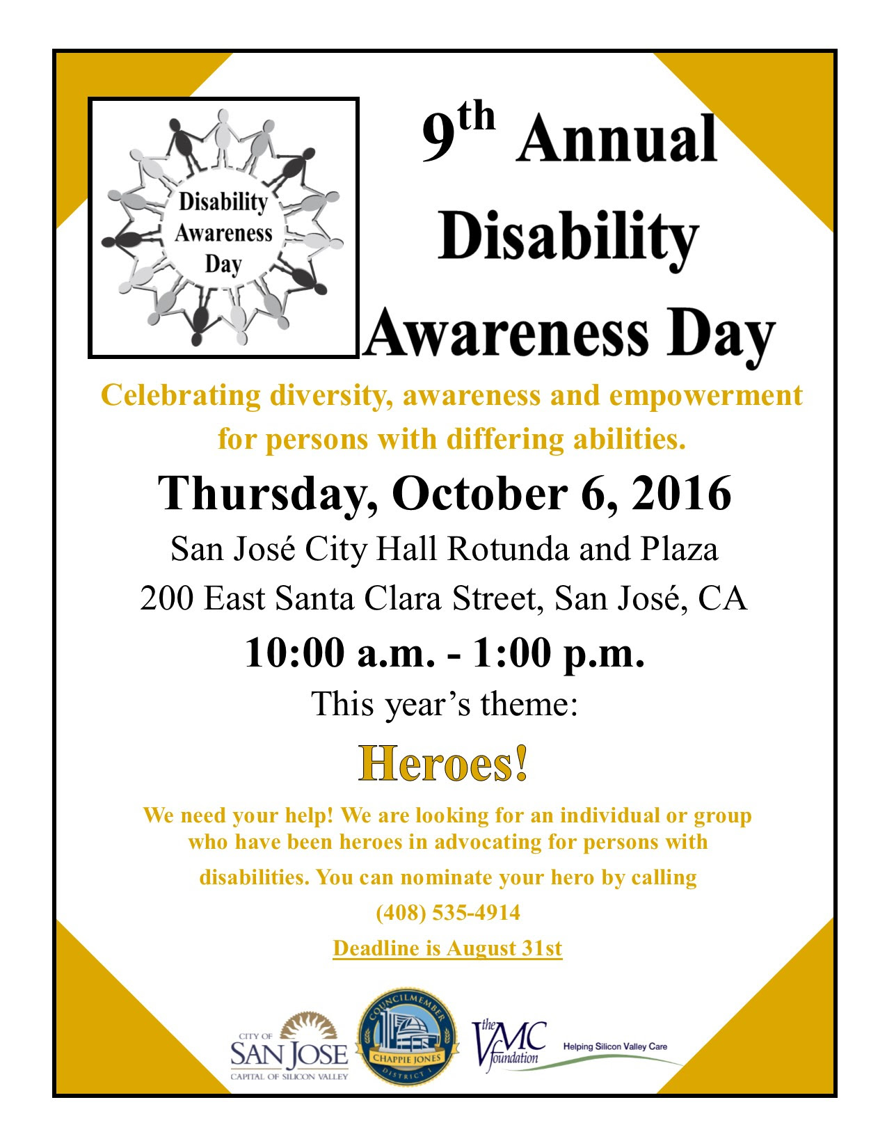9th Annual Disability Awareness Day