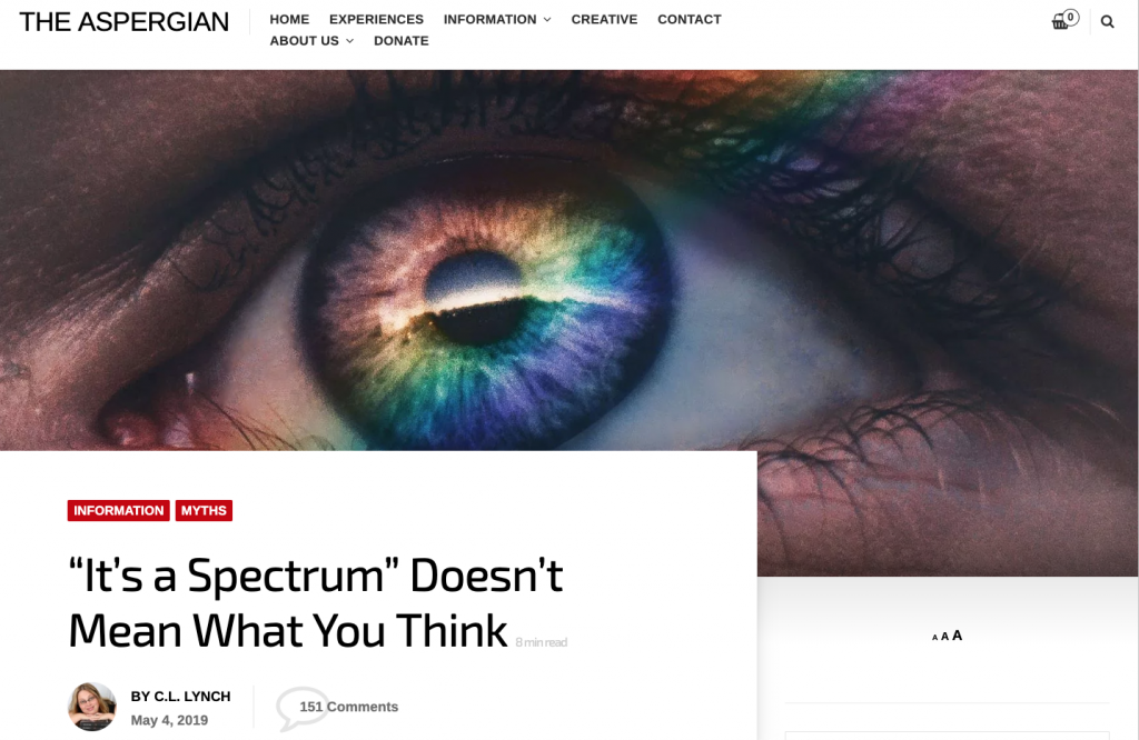 "It's a Spectrum"" Doesn't Mean What You Think - Tucci"